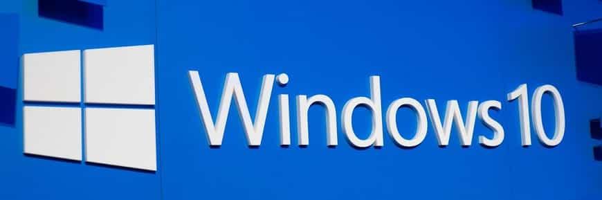 Windows 10 Logo Banner